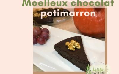 Moelleux chocolat au potimarron