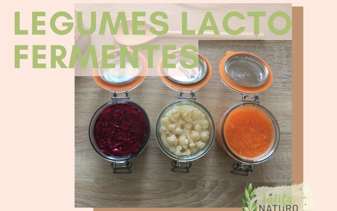 Mes légumes lacto fermentés