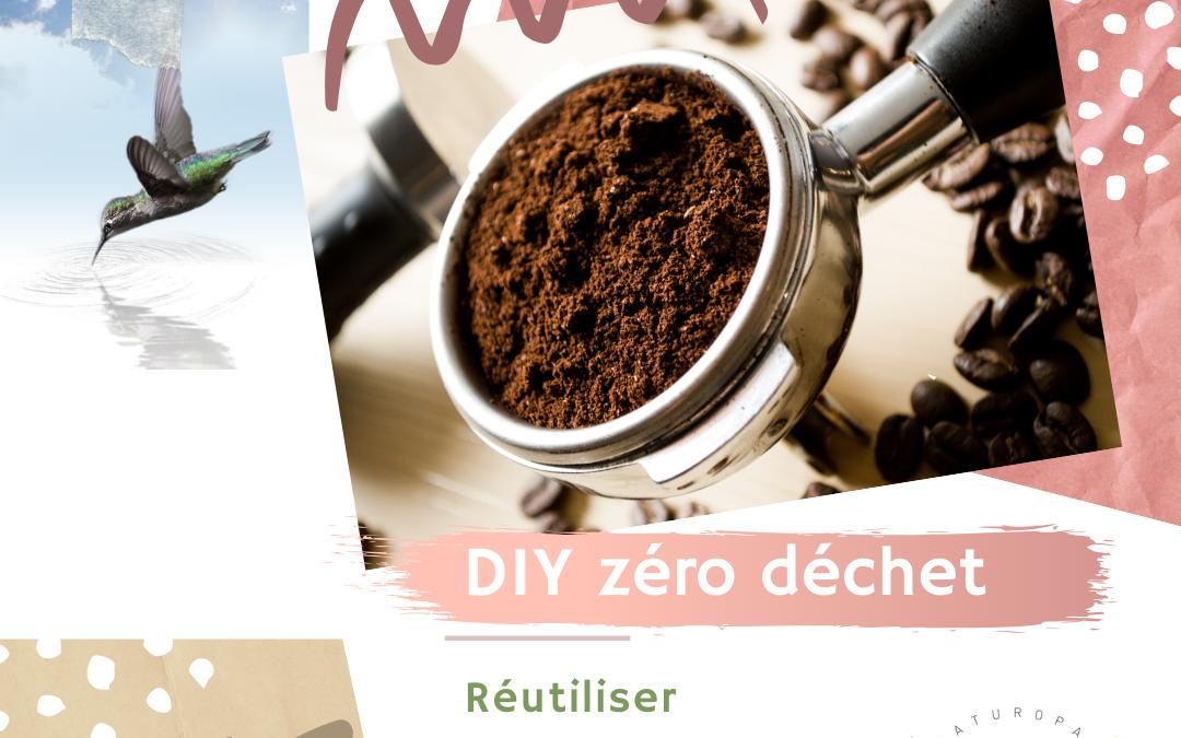 Réutiliser le marc de café